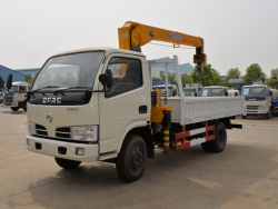 Dongfeng 4*2 2 ton truck mounted crane