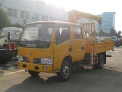 Dongfeng 2 ton truck mounted crane