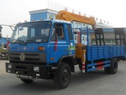 Dongfeng 6.3 ton truck mounted crane