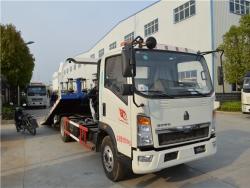 Howo Flatbed Slide Wrecker Truck