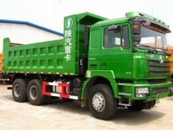 SHACMAN 10 wheel dump truck