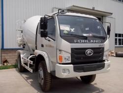 Foton RHD 4*2 6 cubic meters small concrete mixer truck