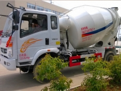 Howo 6 Cubic Meters Small Concrete Mixer Truck