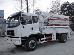 pump trucks concrete delivery vehicles