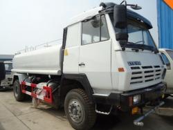 Sinotruk 4*2 12 Tons 12000L water tank sprinkling truck