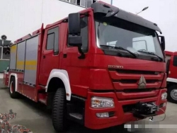 HOWO 4x2 Heavy Rescue Fire Engine