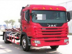 JAC 10m3 Hydraulic Lifter Garbage Truck