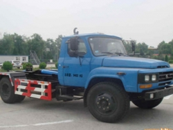 DONGFENG 4x2 6M3 Hydraulic Lifter Garbage Truck