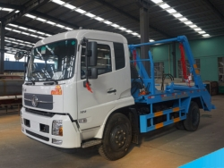 DONGFENG 210hp 4*2 12CBM Arm Roll Garbage Truck