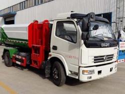 DF 6 m3 hydrailic lifter garbage truck