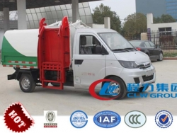 Karry hydraulic lifter garbage truck