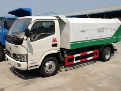 DFAC Small Hermetic Garbage Truck