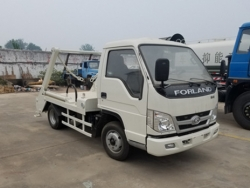 Forland 4x2 mini swing-arm garbage truck