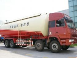 SHACMAN Aolong 36m3 flour grain transport truck