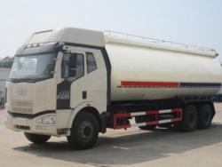 FAW 6x4 25m3 bulk cement tank vehicle