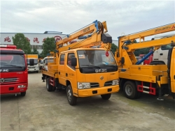 Dongfeng truck mounted hydraulic lift stage platform for