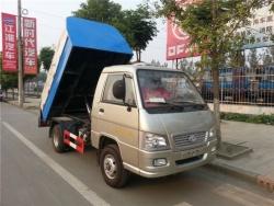 hydraulic bin lifter garbage truck