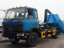 8m3 Dongfeng roll off garbage truck