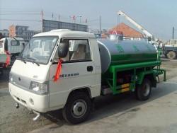Foton 1500L mini water tank truck road sprinkler