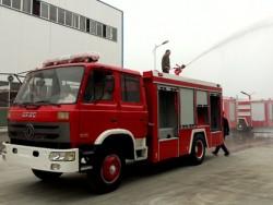 Dongfeng Fire engines 4x2 water foam tank 6000L