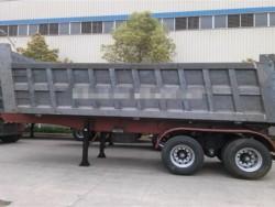 60 tons rear or side dump tipper truck trailer