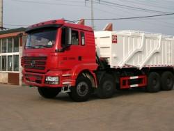 8x4 12 Wheels Sand Tipper Cargo Truck