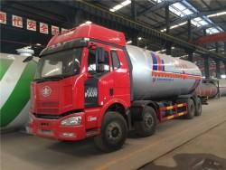 FAW 15 metric tones nigeria bobtail lpg tank truck