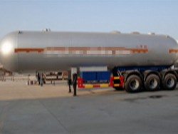 45000 liters 3 axle LPG Tank Semi Trailers