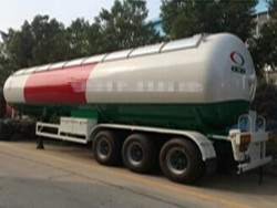tri-axles 25000L LPG gas tank trailer