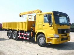 HOWO 15 Ton 6*4 Crane Truck