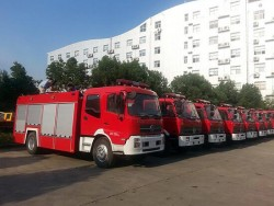 EQ5208 Dongfeng Water Tank Fire Fighting Truck