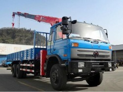 Dongfeng 6x4 Mobile Hydraulic 12 Ton Truck Crane