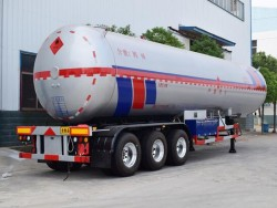 50000 Liters LNG Tank Semi Trailer