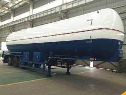 45000L tank trailer type LPG pressure gas tank semi trailer
