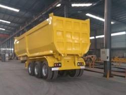 3 axles dump tipping trailer 60tons tipper semi trailer
