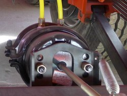 air brake chamber t30 in low bed trailer parts