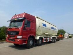 6x4 35m3 bulk cement transport truck