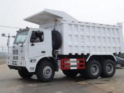 Sinotruk HOWO 6x4 70 ton heavy duty mining dump truck
