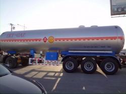 3 Axle Semi Trailer LNG Tank Truck Trailer