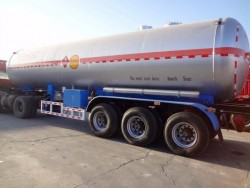 3 axle Tanks LPG gas cylinder LPG tank