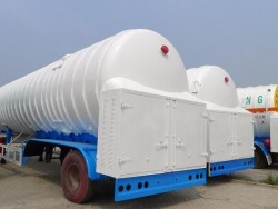 China mobile lng storage tank semi trailer