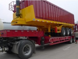 20ft 40ft 48ft Hydraulic Tipping Container Trailer