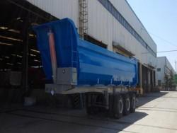 40tons dump semi trailer