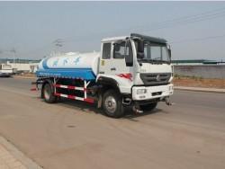 best quality 160HP 4x2 sinotruk 10000 liter water tank truck