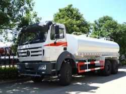 BeiBen 10 wheeler Water Bowser Dilivery Truck