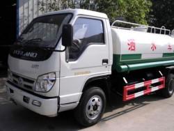 Mini 4000 liter Water Tank Truck