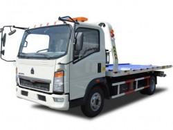 HOWO Tilt Tray tow truck wrekcer