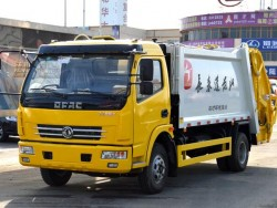 Dongfeng 4x2 Mini Garbage Compactor Truck