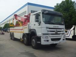 8*4 SINOTRUK HOWO Heavy Duty Road Recovery Truck 30ton
