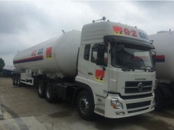 BPW 3 axle 58.5m3 mobile lpg truck